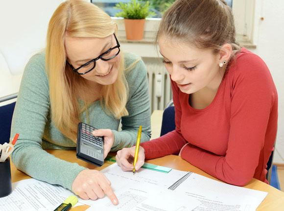 Aides aux devoirs et examens